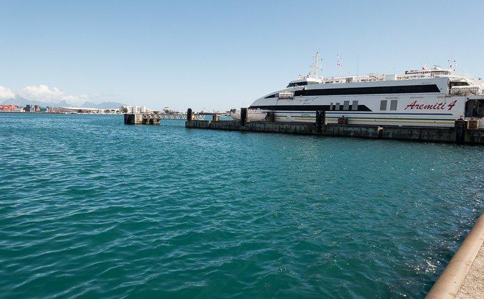 Aremiti ferry Papeete
