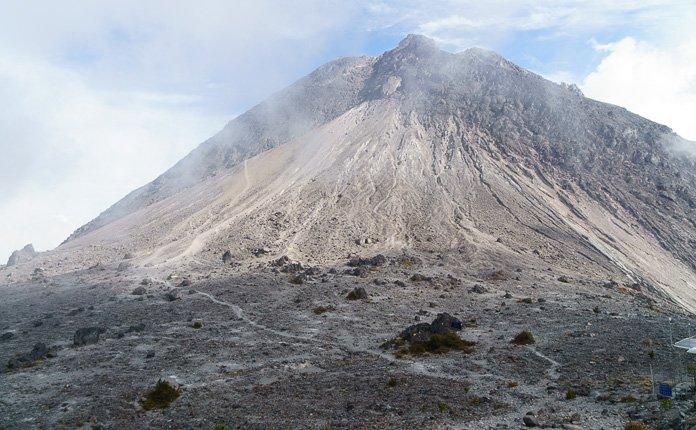 Hiking Mount Merapi Java Indonesia
