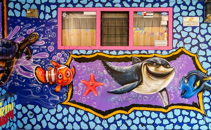 Finding Nemo Artwork Kampung Tridi
