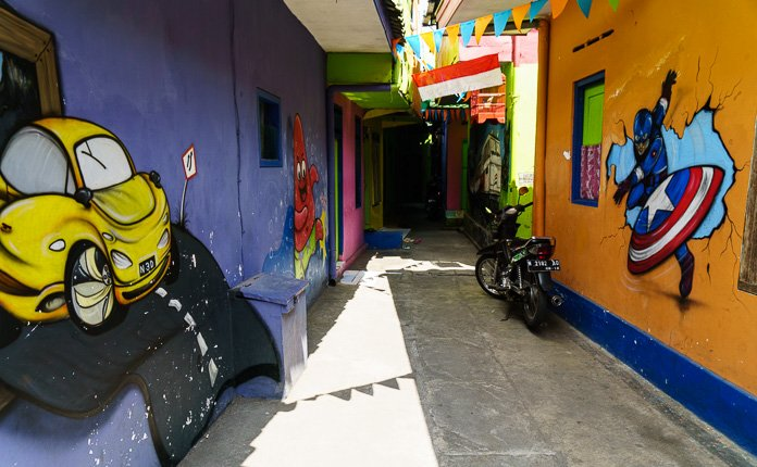Kampung Tridi Streets