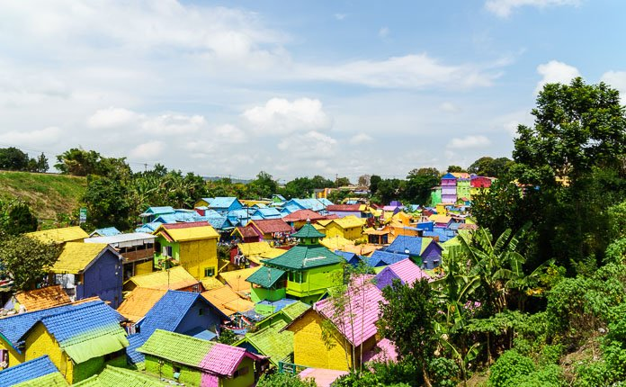 Kampung Tridi The 3d City Of Indonesia Outsidevibes