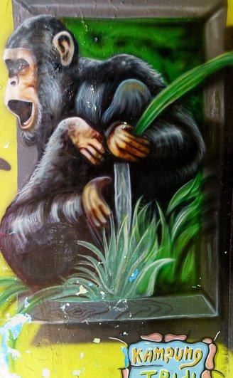 Monkey Art Kampung Tridi