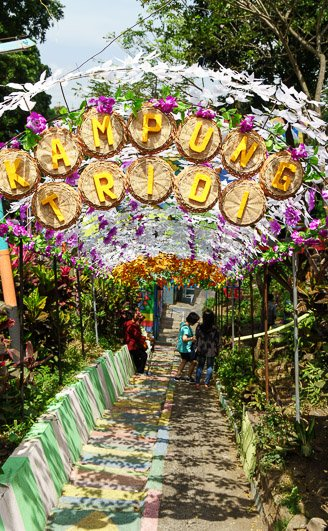 Kampung Tridi 3D city Malang