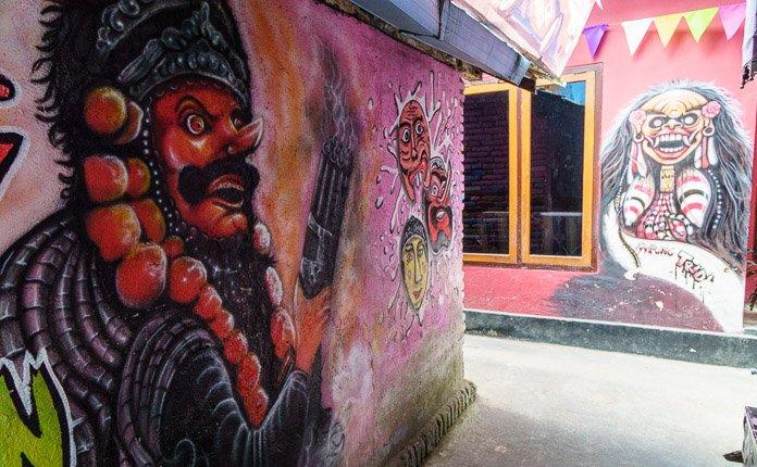 Kampung Tridi Artwork