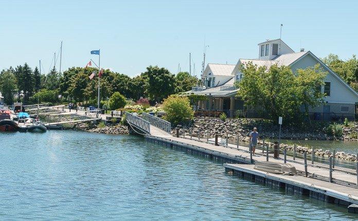 Lakefront Promenade Park Toronto
