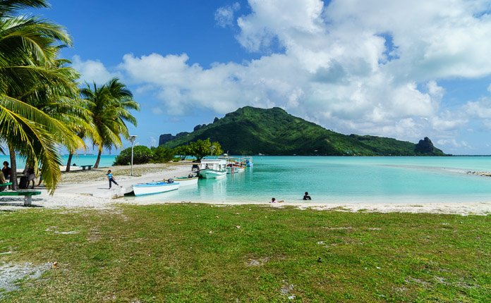 Maupiti Island French Polynesia