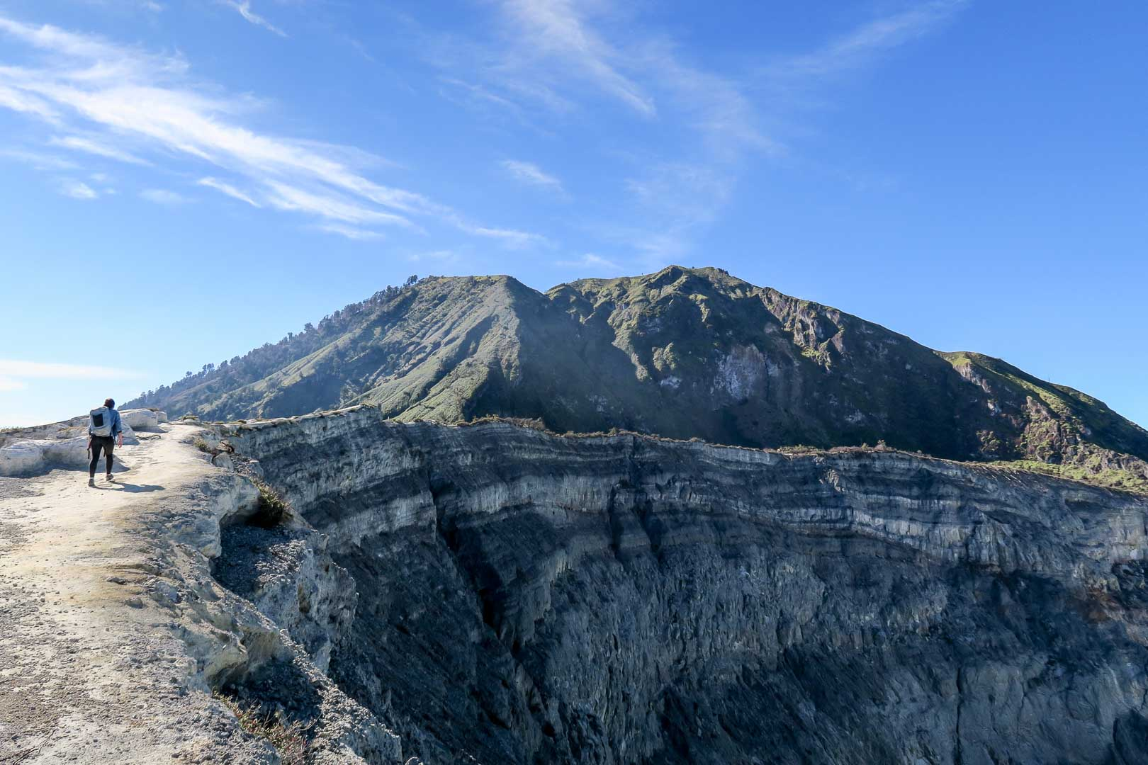 Hiking Mount Ijen