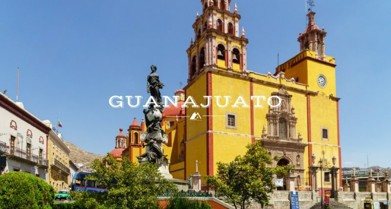 Old Church Guanajuato Mexico
