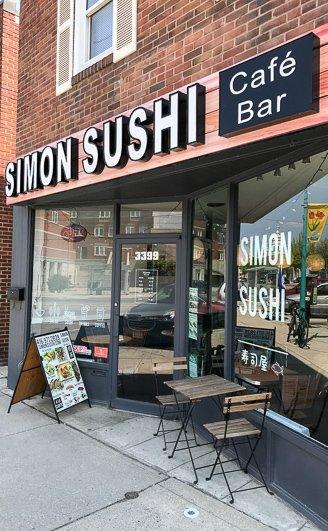 Simon Sushi Toronto
