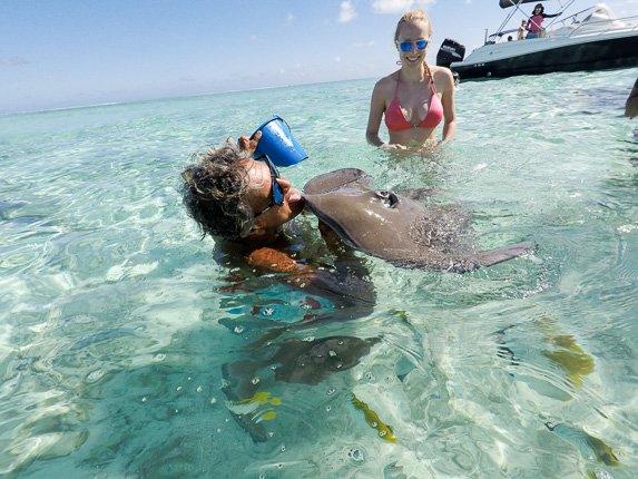 Snorkeing Bora Bora