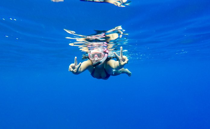 Snorkeling Bora Bora