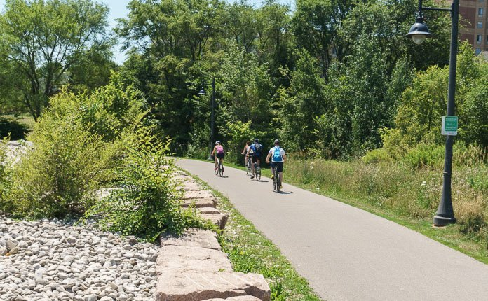 Toronto Waterfront Cycling Trail