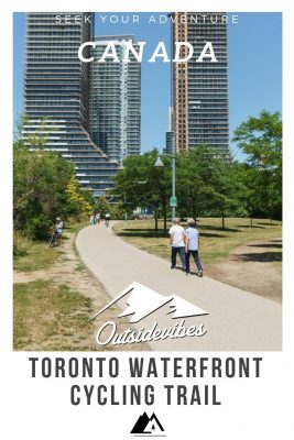 Toronto waterfront Cycling Traill