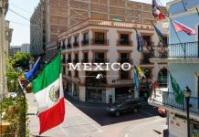 Travel Mexico Flag