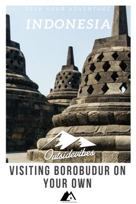 Visiting Borobudur on your own Java Indonesia