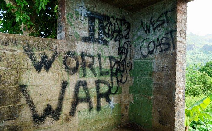 WW2 Bunker Bora Bora
