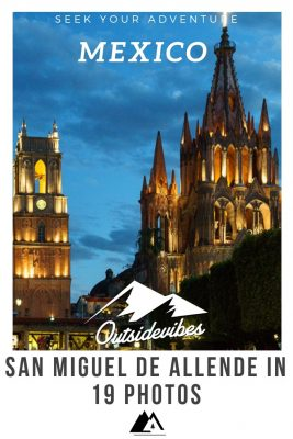 San Miguel de Allende Church Pinterest
