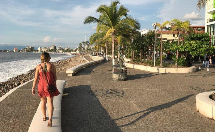 Puerto Vallara Malecon