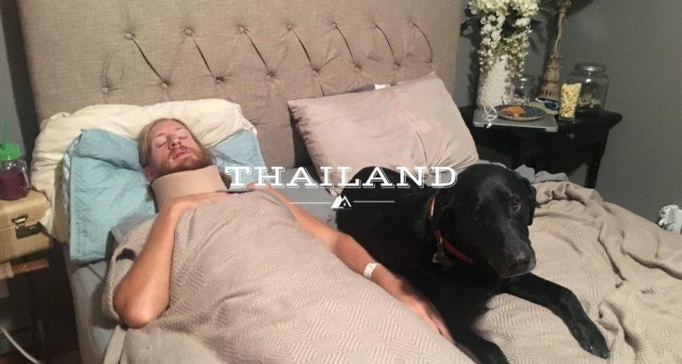 Thailand Tuk Tuk Accident