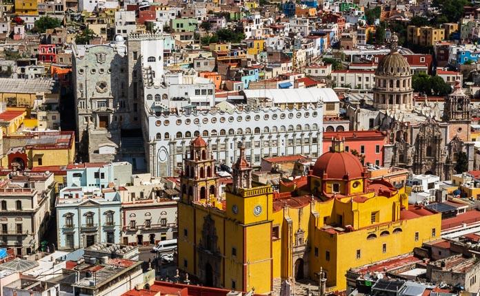 Guanajuato City Mexico