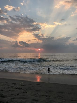 Puerto Escondido Mexico Sunset