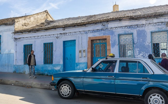 Taking Taxis in Morocco
