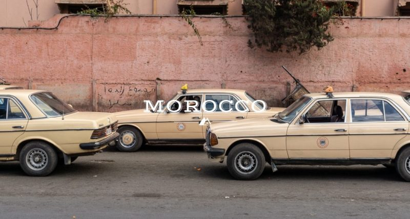 Taking Taxis in Morocco Outidevibes