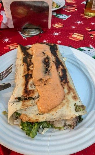 3 Best Chicken Burritos in Puerto Escondido