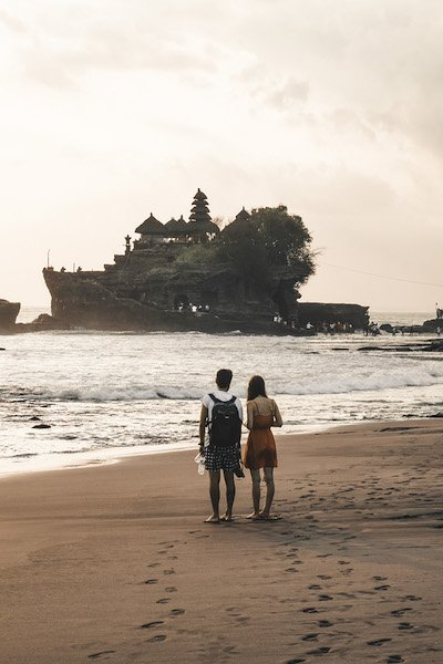 tana lot bali sunset | Outsidevibes