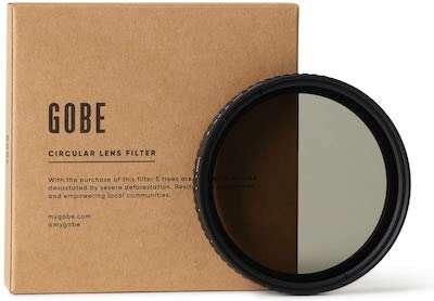 Gobe ND Variable Camer Filter | Outsidevibes