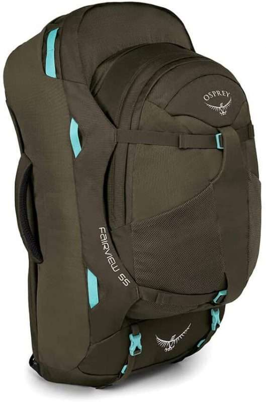 Osprey Fairview 55L Woman carry on backpack | Outsidevibes
