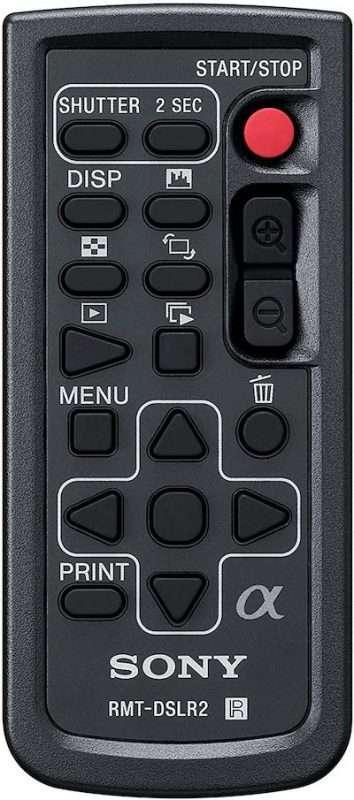 Sony Alpha Mirorless Camera Remote