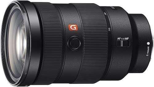 Sony FE 24-70 E Mount lens
