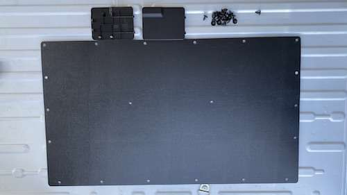 Ram promaster side panel removal