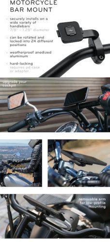 Peak Design Motorcycle Bar Mount Adapter